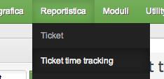 menu ticket time tracking help desk software