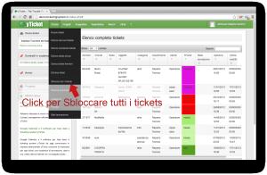yticket help desk software sblocca tutti i ticket