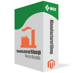 magento module manufacturer shop by brands