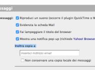 Zimbra, inoltro email